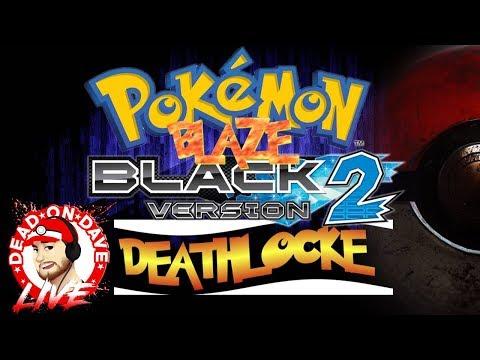 LIVE Pokemon Blaze Black 2 DEATHLOCKE - Random Topics Chat Banter & Card Opening!