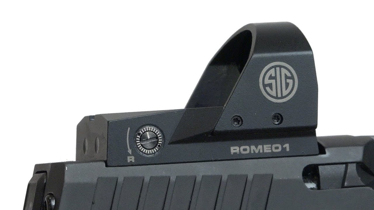 NRA Gun Gear of the Week: SIG X-Carry: Mounting An RDS