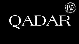 #QADAR Langon a kanggula na napasad no ALLAHO TA'ALA den.
