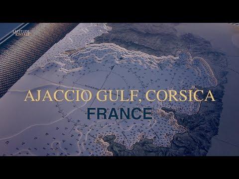 3D Nautical Chart by Latitude Kinsale - Corsica Island & Ajaccio Gulf detail