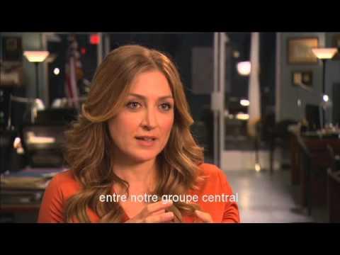 Sasha Alexander - ITW France 2 (March 2013)