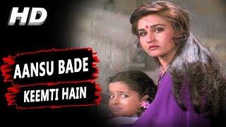 Aansu Bade Keemti Hain   Vinod Rathod   Policewala Gunda 1995 Songs   Dharmendra, Reena Roy