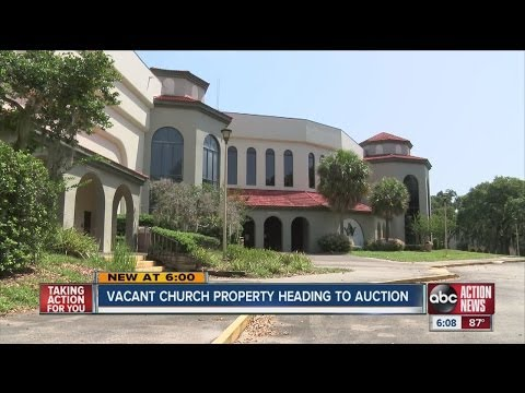 Vacant church property heading to auction