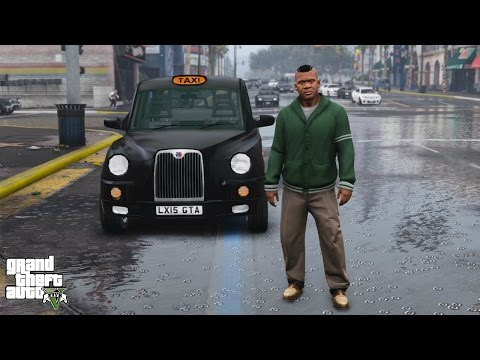 GTA 5 REAL LIFE MOD#66-LONDON TAXI