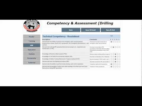 Competency Management System