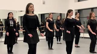 Адыгский танец - Лъапэрисэ ! От девушек студии NDC! Школа лезгинки в Москве!