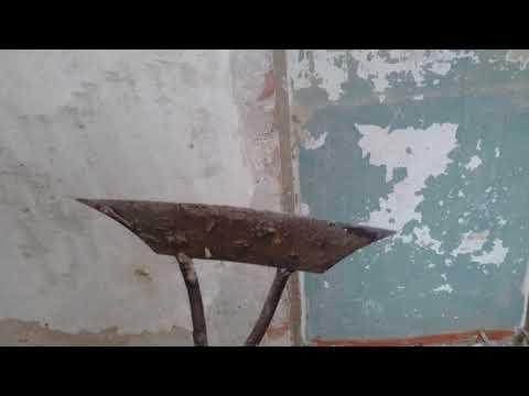 Как снять набел со стен без пыли видео