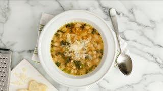 15-Minute White Bean Soup - Martha Stewart