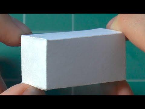 Как сделать ИДЕАЛЬНЫЙ параллелепипед из бумаги