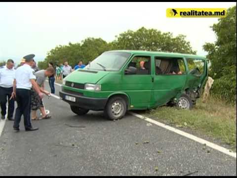 Accident rutier pe traseul Chișinău-Leușeni
