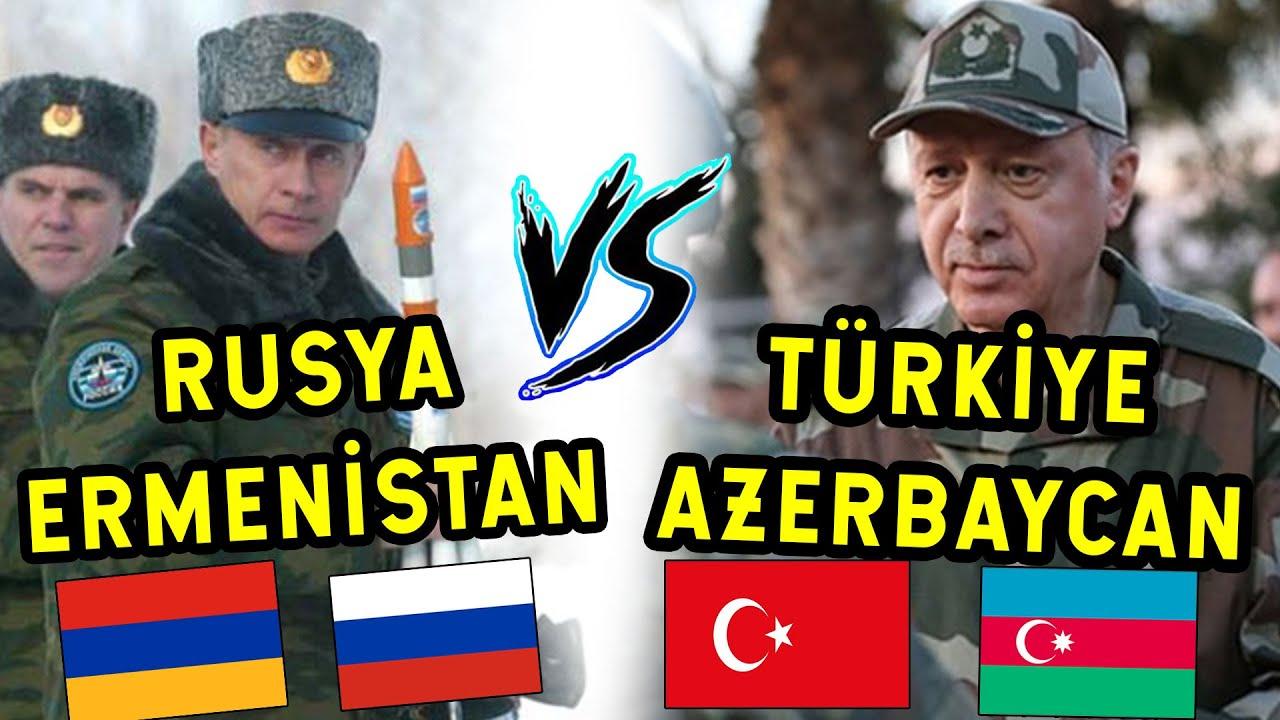Rusya Ermenistan'ı Korudu! Karşısında Türkiye ve Azerbaycan Var