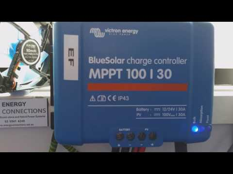 Adams Off Grid Solar: New Victron 100/50 Charge Controller