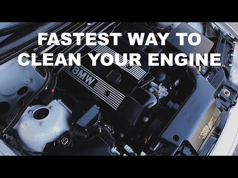 How To - Clean Your Engine Bay