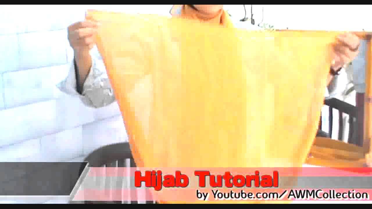 Tutorial Hijab Pashmina Simple Tanpa Jarum YouTube
