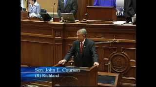 Sen. John Courson Is the New President Pro Tempore