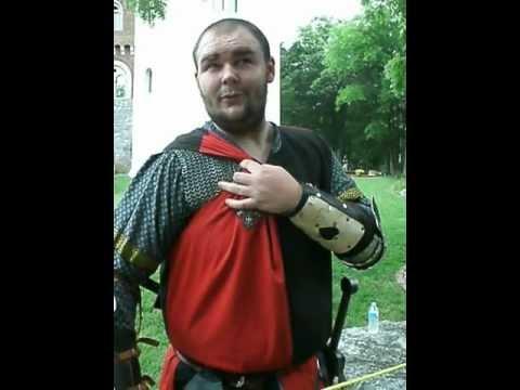 Crusader Knight at Castle Gwynn