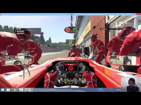 F1 2015 Gameplay Rio Haryanto Indonesia Manor Racing