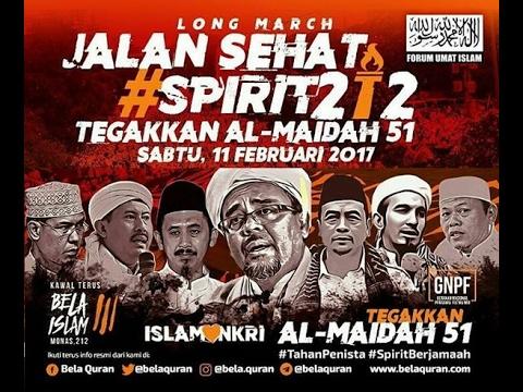 Aksi 112 Menegakan Surah Al-Maidah Ayat 51