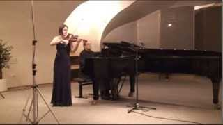 "Locatelli - Ysaÿe: Sonata F minor ""Au Tombeau"" (Valečková)"