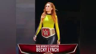 The man becky lynch theme song 2020 ...