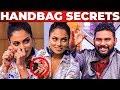 EYELASH SECRETS - IAMK Actress Chandrika Ravi HANDBAG Secrets Revealed | What's Inside the HANDBAG