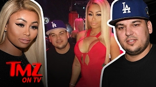 Rob Kardashian & Blac Chyna Having Relationship Troubles? (TMZ TV)