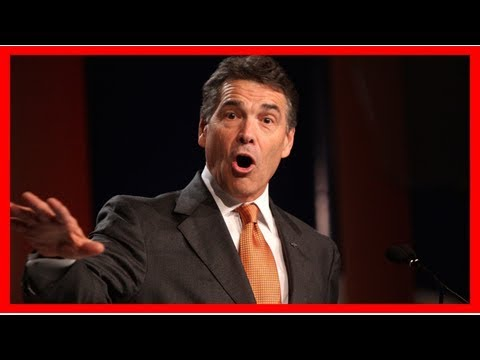 The reaction to rick perry leading the department of energy? it's complicated
