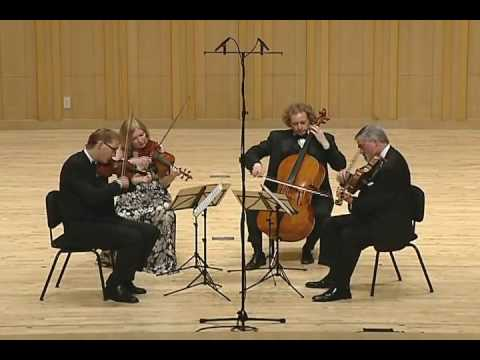 The American String Quartet - Ravel String Quartet in F Major - 4th Mvmt, Vif et Agite