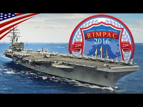 RIMPAC 2016 (Exercise Rim of the Pacific) Highlight Video - リムパック2016 (環太平洋合同演習) ハイライト動画