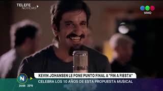Kevin Johansen le pone punto final a Fin a Fiesta Celebra los 10 años de esta propuesta musical