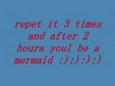 videos on how to become a mermaid