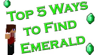 Top 5 Ways to find Emeralds in Minecraft