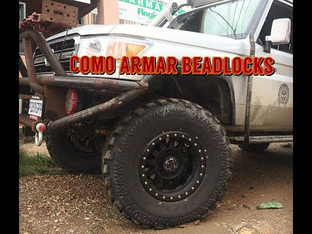 Como Armar Method Race Wheel Beadlocks ( En Espanol )