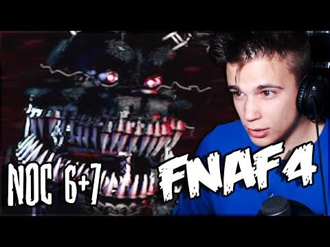 NOWY ANIMATRONIK! - Five Nights at Freddy's 4 [NOC 6 i 7][PL]