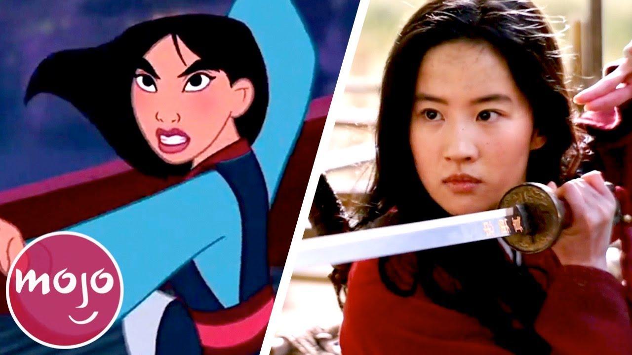 Download Top 10 Differences Between Mulan (1998) & Mulan (2020)