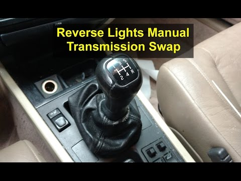 How to get your reverse lights to work after the manual transmission swap, Volvo 850, S70 & V70.