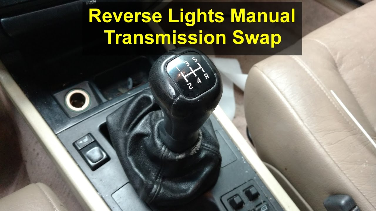 How to get your reverse lights to work after the manual transmission swap, Volvo 850, S70 & V70 ...