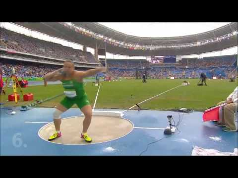 Rio 2016 - Women's shot put qualification - TOP 12