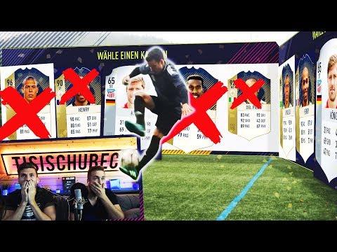 FIFA 18: REAL LIFE FUT DRAFT CHALLENGE mit BESTRAFUNG 😈🔥 (Deutsch)