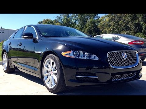 Black Wallpaper Close Up Car 2015 Jaguar Xj Supercharged Full Review Start Up Exhaust