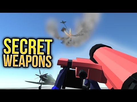 Ravenfield - TOP SECRET HIDDEN WEAPONS - Hydra, Patriot, HMG & Air Horn - Ravenfield Gameplay