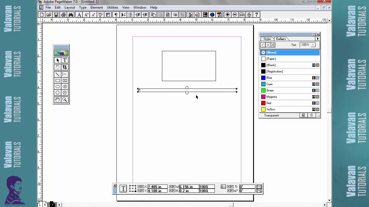 Page Maker 7 0 Introduction Tutorial In Tamil