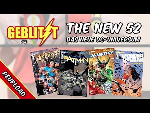 """Alles auf Anfang? """"The New 52"""" und das neue DC-Universum - """"Geblitzt"""""""
