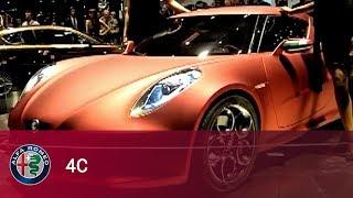 Alfa Romeo 4C the Unveiling