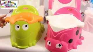 Potties for Girl and Boy / Nocniki dla Dziewczynki i Chłopca - Fisher-Price - Świat Zabawek Amelia