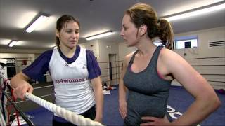Sinead Desmond trains with Olympic Gold Medalist Katie Taylor | Ireland AM
