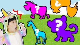 동물 퀴즈 맞추기 게임!! Wrong Animals Puzzle Game Learning Animal Educational video - 마슈토이 Mashu ToysReview