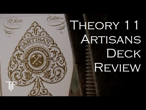 Theory 11 Artisans Playing Cards - Deck Review