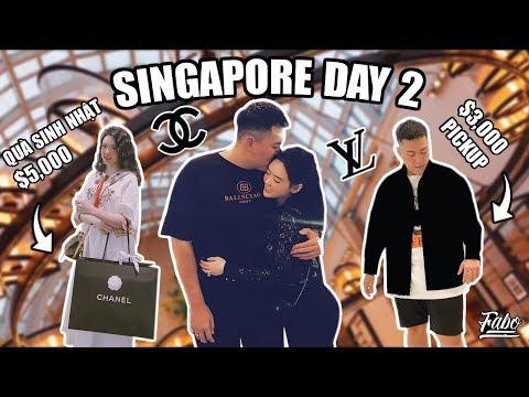 Mua Áo Khoác Louis Vuitton Giá $3,000?!?!? | Singapore Day 2