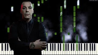 LINDEMANN - Ich weiß es nicht   Piano Cover Instrumental